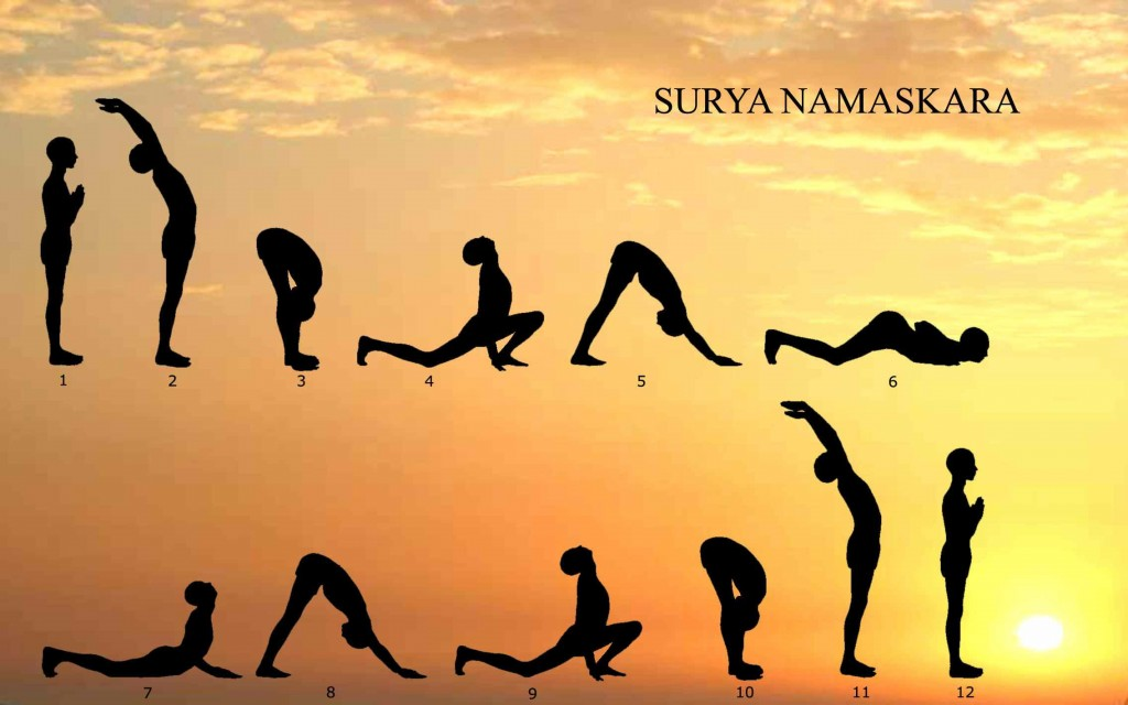 Health Benefits of Surya Namaskar,Yoga, Healthy Lifestyle, Curing Diseases, Stress Relief Exercises