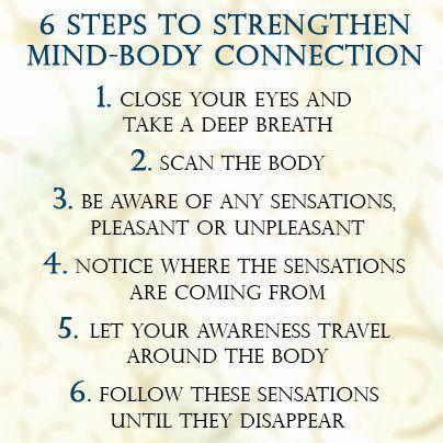 6 steps to strengthen mind body connection health tips