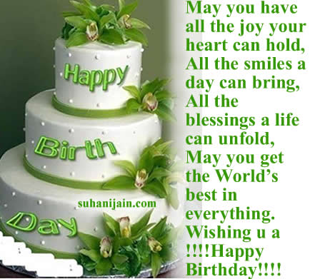 birth day wishes