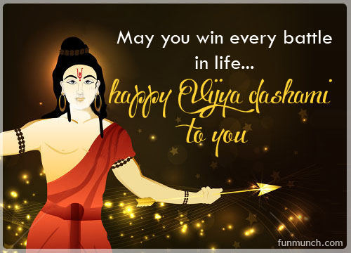 Happy dussehra greeting cards wishes daily inspirations for rama imagessmshappy dussehragreeting cardswishespositive thinking m4hsunfo