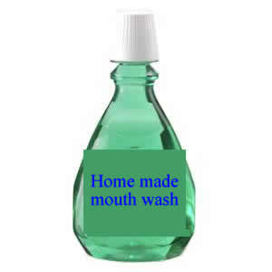 health tips,Homemade Mouthwash Recipes, eliminate bad breath, mouth teeth,and gum health.