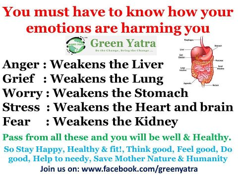 Health Inspirations ,Tips,Inspirational Quotes,emotions,anger,grief,worry,stress,fear