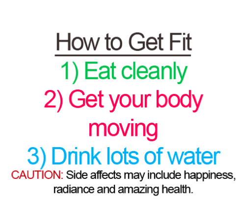 3 Secrets of How to get Fit , Eat Healthy, Exercise Daily, Drink lots of water, Happiness, Amazing Health Benefits