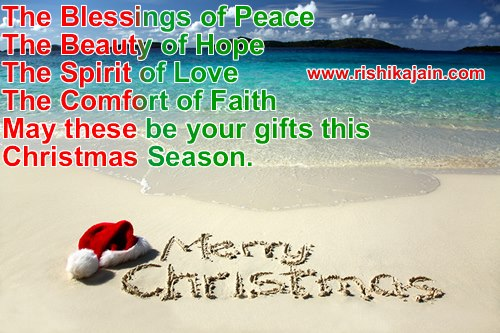 The 45 Best Inspirational Merry Christmas Quotes Of All: MERRY CHRISTMAS & HAPPY NEW YEAR