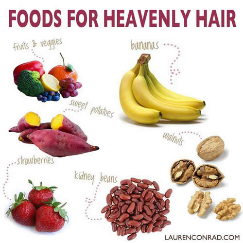 Food For Healthy Hair Daily Inspirations For Healthy Living