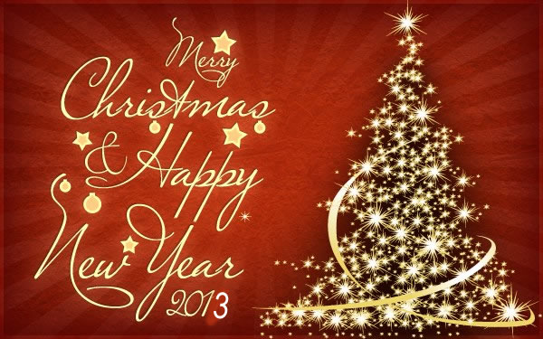 Merry christmas and a happy new year greetings daily inspirations christmas new year 2013quoteswishes cardswallpaperspictures m4hsunfo