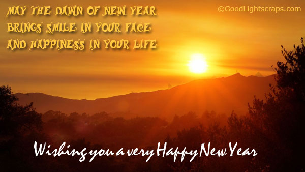 wishing all my dear friends a very happy new year