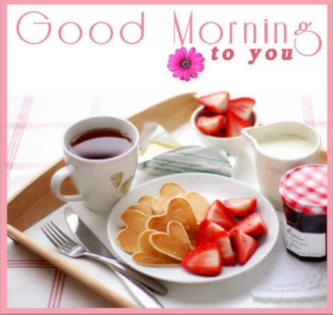 Good morning tea wishes greetings sms inspirational quotes