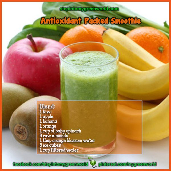 AN ANTIOXIDANT PACKED SMOOTHIE ;Healthy drink | Daily Inspirations for ...