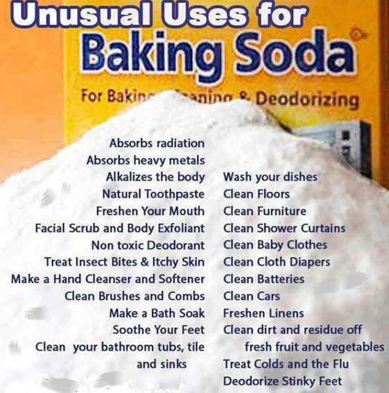 uses of baking soda,home tips