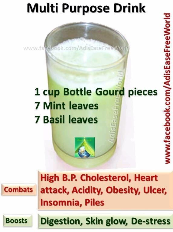 Multipurpose Healthy Drink, recipe