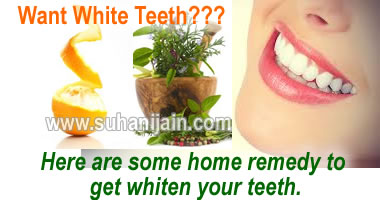white teeth,home remedy