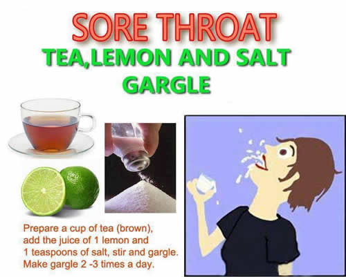 Homemade Remedy For Sore Throat