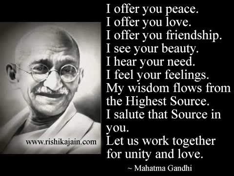 Mahatma Gandhi, Inspirational Quotes, Motivational Thoughts and Pictures