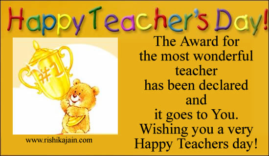 Happy Teachers day thoughts,wishes,cards,sms