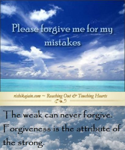 Forgiveness quote,uttam kshama,message,thoughts,cards,sms