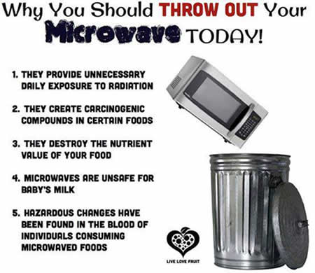 health tips, disadvatages of Microwave