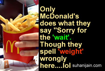 funny thought,joke,McDonald's