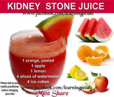 Kidney stone juice ,tips