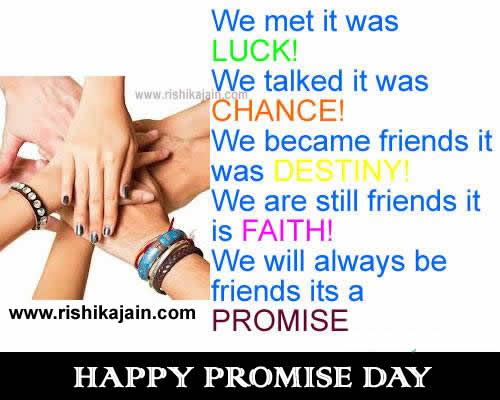 Happy promise day quotes,greetings,wishes ,sms