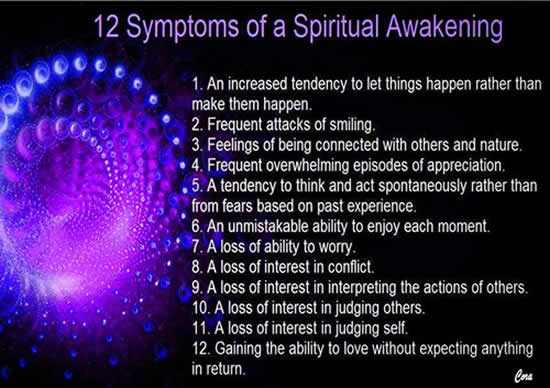 12 symptoms of a spiritual awakening