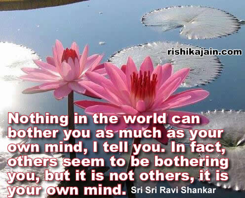 Sri Sri Ravi Shankar,Inspirational Quotes, Pictures and Motivational Thoughts.
