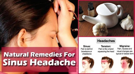 Sinus Headache,causes,remedy