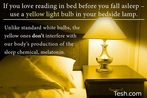 reading ,sleeping,yellow lamp