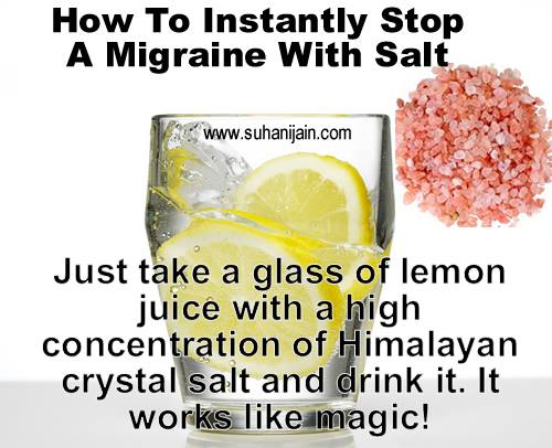 Migraine ,headache home remedy,health tips
