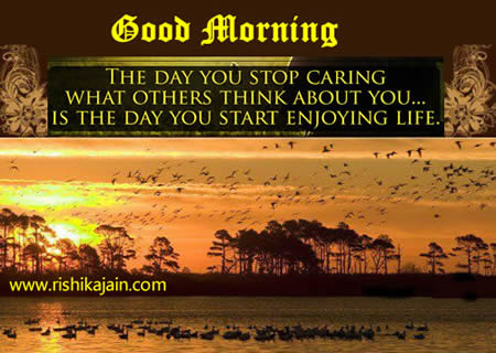 Good Morning – Inspirational Quotes, Motivational Thoughts and Pictures