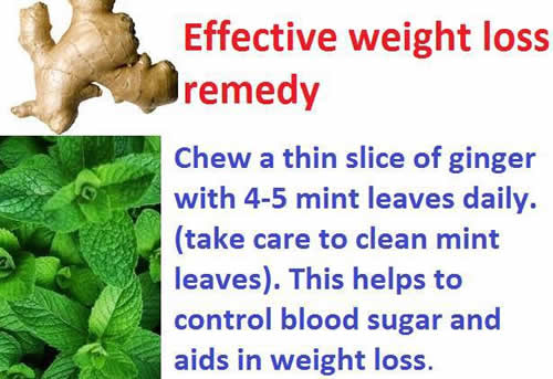 Effective weight loss remedy ,health tips