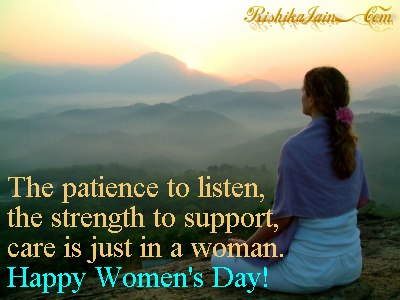 Happy Women's Day Quotes – Inspirational Pictures and Thoughts.
