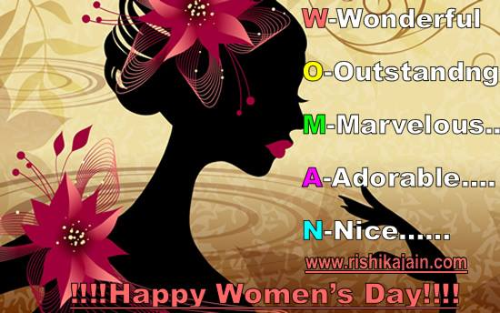 HAPPY WOMEN'S DAY QUOTES, MESSAGES, CARDS & IMAGES