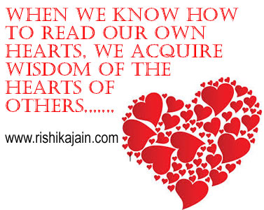 when we know how to read our own hearts daily
