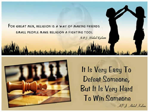 Bharat Ratna Awardee Dr.APJ Abdul Kalam,quotes