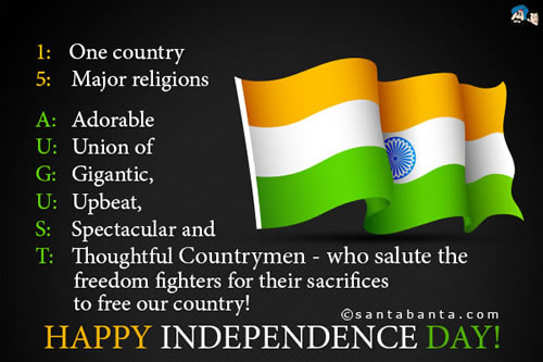 india,Independence Day Quotes - Inspirational Quotes, Motivational Thoughts and Pictures