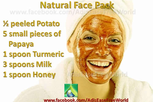 daily beauty tips for face - The home made natural and nourishing face pack for smooth skin and ...